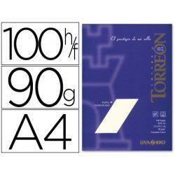 PAPEL VERJURADO TORREON A4 CREMA P/100