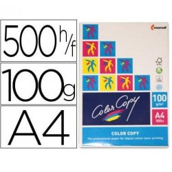 PAPEL COLOR COPY A4 100GR. P/500H.