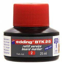 TINTA EDDING BTK 25 B/25ML. ROJO