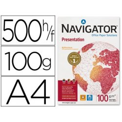 PAPEL MULTIFUNCION NAVIGATOR A4 100GR. P/500H.