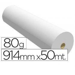 PAPEL PLOTTER FABRISA 80GR. R/0.914X50M.