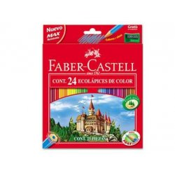 LAPICES DE COLORES FABER CASTELL EST/24
