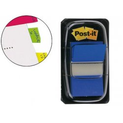 BANDERITAS POST-IT INDEX AZUL
