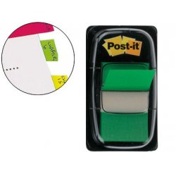 BANDERITAS POST-IT INDEX VERDE