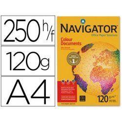 PAPEL MULTIFUNCION NAVIGATOR A4 120GR. P/250H.