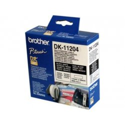 ETIQUETA PAPEL PRECORTADA BROTHER 17X54MM. DK11204