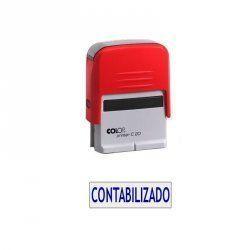 """SELLO AUTOMATICO COLOP PRINTER 20 """"CONTABILIZADO"""""""