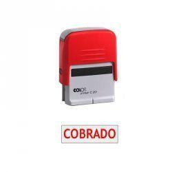 """SELLO AUTOMATICO COLOP PRINTER 20 """"COBRADO"""""""