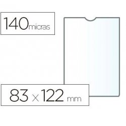 PORTACARNET ESSELTE PVC 83X122MM