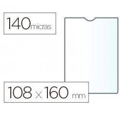 PORTACARNET ESSELTE PVC 108X160MM.