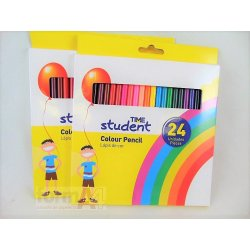 LAPICES DE COLORES TIME STUDENT C/24
