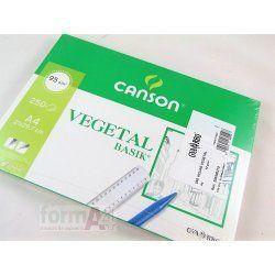 PAPEL VEGETAL CANSON A4 90/95GR. P/250