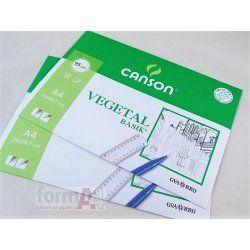 PAPEL VEGETAL CANSON A4 P/ 12H.
