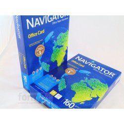 PAPEL MULTIFUNCION NAVIGATOR A4 160GR. P/250H.