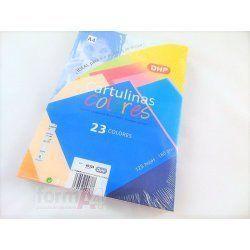 CARTULINA DHP A4 180GR. AZUL ULTRAMAR P/125