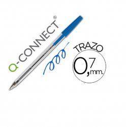 BOLIGRAFO Q-CONNECT AZUL
