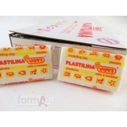 PLASTILINA JOVI 70 C/30 BLANCO