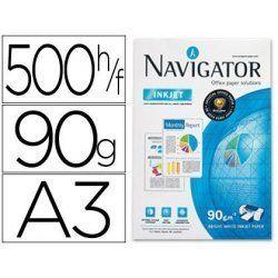 PAPEL MULTIFUNCION NAVIGATOR A3 90GR. P/500H.