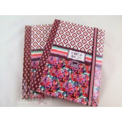 CUADERNO • TAPA CON GOMA • MAKE NOTE A-5 BLOOM UP
