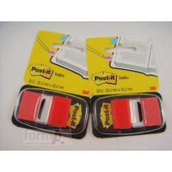 BANDERITAS POST-IT INDEX ROJO