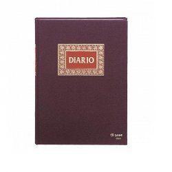 LIBRO DE DIARIO DOBLE DOHE FOLIO 100H.