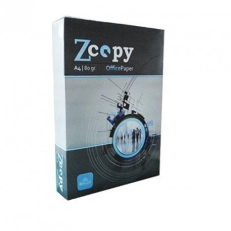 PAPEL MULTIFUNCION ZCOPY A4 80GR. P/500H