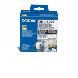 ETIQUETA PAPEL PRECORTADA BROTHER 23X53MM DK11221