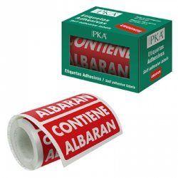 ETIQUETAS ADHESIVAS PKA CONTIENE ALBARAN R/200