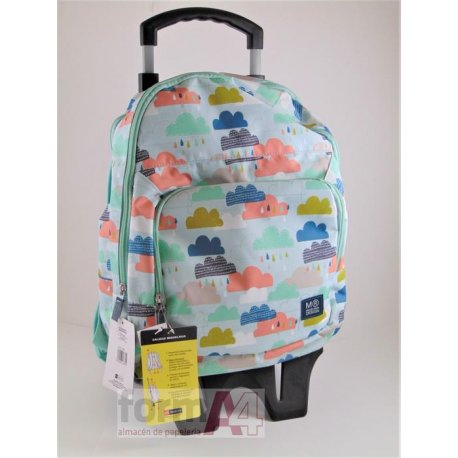 MOCHILA TRIPLE C/CARRO CLOUDY DAY MR