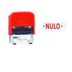 """SELLO AUTOMATICO COLOP PRINTER 20 """"NULO"""""""
