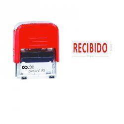 """SELLO AUTOMATICO COLOP PRINTER 20 """"RECIBIDO"""""""
