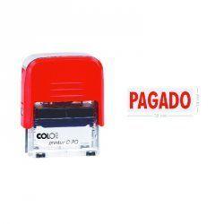 """SELLO AUTOMATICO COLOP PRINTER 20 """"PAGADO"""""""