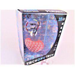 MEMORIA USB CORAZON ROJO LOVE TEC 16GB