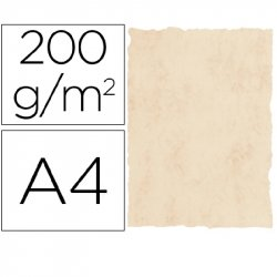 PAPEL PERGAMINO MARMOL BEIGE 200GR. A4 P/25