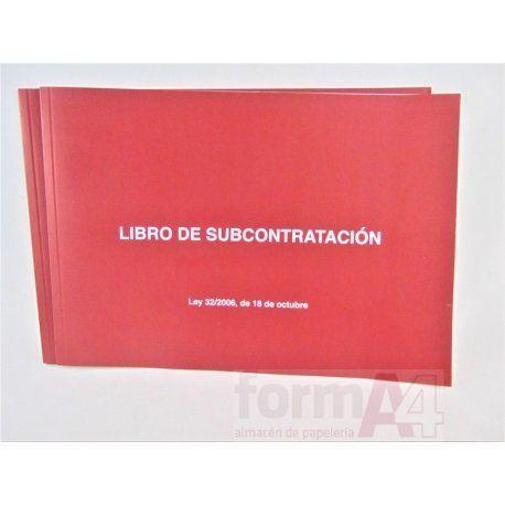 LIBRO DE SUBCONTRATACION DOHE