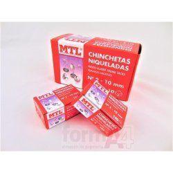 CHINCHETAS NIQUELADAS Nº 2 MTL C/100
