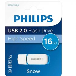 MEMORIA USB PHILIPS SNOW 2.0 16GB
