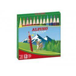 LAPICES ALPINO EST/12 CORTOS